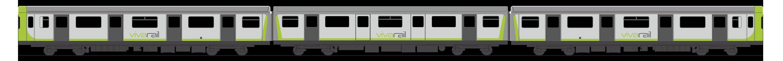 Vivarail Class 230 3 Car