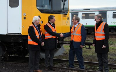Vivarail and Hoppecke announce long-term supply of batteries for Class 230s