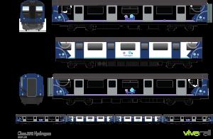 1187 Class 230 Northern Hydrogen x4 car Final 15.01.19