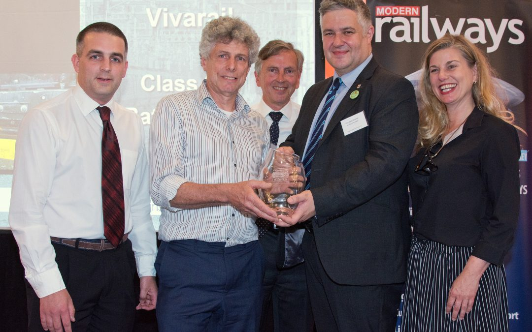 Winners at the Rail Industry Innovation Awards