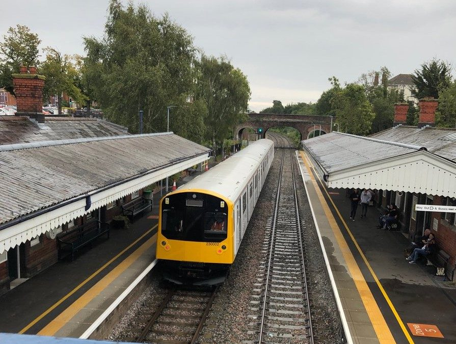 A first for Vivarail – and a first for the UK!